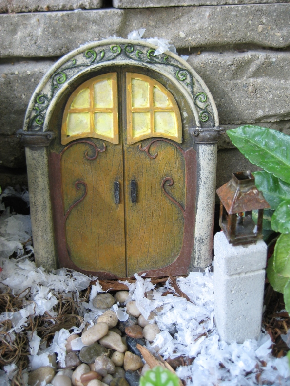 Gnome's home door