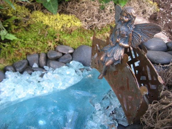 Fairy on a bridge