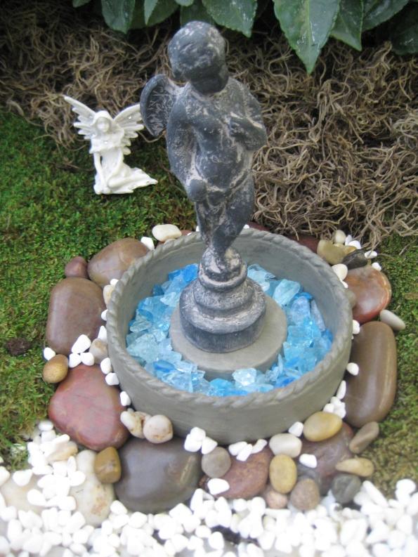 Fountain with fairy