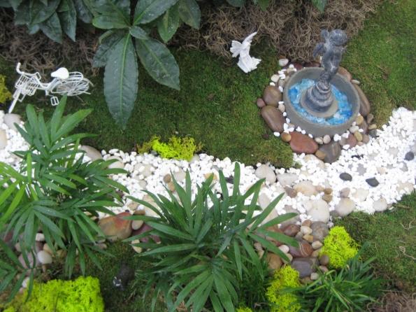 Path through gardens